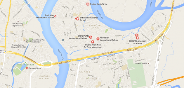 International Schools of District 2, HCMC