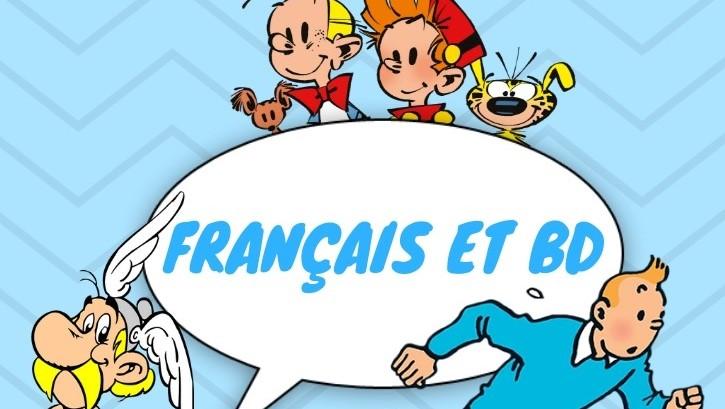 apprendre le français BD